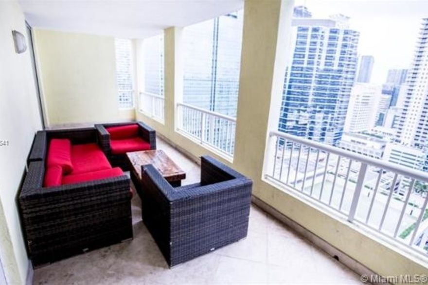 Sail At Brickell Unit 2708 2 Bedroom Condo For Rent 1090