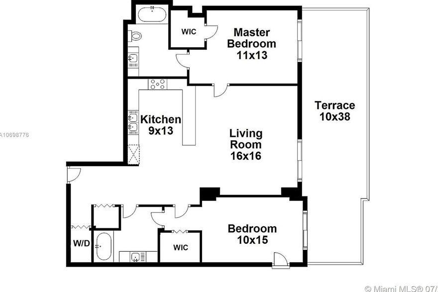 Sail At Brickell Unit 1508 2 Bedroom Condo For Rent 1090